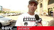 As he prepares for his battle with #4 ranked welterweight Demian Maia at Fight Night Barueri, Jake Shields takes a break from training to enjoy some of the sights and sounds of Brazil as Paula Sack introduces him to native Brazilian fruits and cheeses.