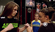 Watch the full fight between Raquel Pennington and Jessamyn Duke from The Ultimate Fighter season 18.