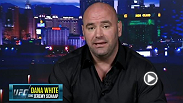 Dana White joined Jeremy Schaap on Keith Olbermann to discuss Rousimar Palhares' controversial submission hold during UFC Fight Night 29, and broke the news that he would be cutting the fighter from the Ultimate Fighting Championship. Via ESPN 2.