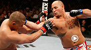 Three of heavyweight Shawn Jordan's four wins in the UFC have come by the way of knockout, including this first-round TKO of Pat Barry at UFC 161.