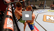 Photos from the seventh episode of The Ultimate Fighter season 18, including Michael Wootten's brawl with Josh Hill.