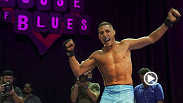 UFC.com correspondent Megan Olivi joins lightweight Diego Sanchez for a memorable open workout at the House of Blues in Houston.