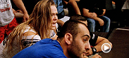 The Ultimate Fighter semifinals begin when Michael Wootten takes on Chris Holdsworth, but first, both teams take a trip to the Harley-Davidson Motorcycle Bootcamp and Coach Rousey's team gets some instruction from Nate Diaz.