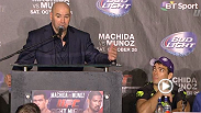 Watch the UFC Manchester post-fight press conference from Manchester, England.