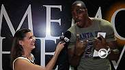 UFC correspondent Megan Olivi checks in with NBA All-Star, and UFC fan, Dwight Howard, to get his predictions on Velasquez vs Dos Santos III.