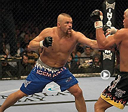 "Tito Ortiz looked to score at UFC 47 against former friend and rising star Chuck Liddell. ""The Iceman"" backed Ortiz up after connecting with a left hook, then, smelling blood, pressed Ortiz against the fence with a savage barrage of unanswered punches."