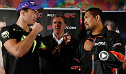UFC stars make their predictions for Saturday night's fight between Mark Munoz and Lyoto Machida. Hear predictions from other fighters on the Manchester card and a guest appearance from light heavyweight contender Alexander Gustafsson.