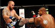 At Boston's UFC Fight Night, Alistair Overeem had Travis Browne crumpled against the fence early. But Browne wouldn't quit, and Hapa turned the tide with a spectacular