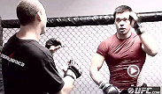 Get an inside look at the former UFC light heavyweight champion, Lyoto Machida, training for his first middleweight bout against Mark Munoz. 'The Dragon' opens up about how adaptability helps him succeed both inside and outside the Octagon.
