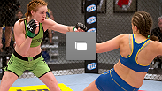 Photos from the ninth episode of The Ultimate Fighter, season 18, including Sarah Moras' bout with Peggy Morgan.