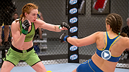 Watch the full fight between TUF bantamweights Peggy Morgan and Sarah Moras.