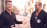 Before UFC Manchester Michael Bisping and rugby star James Haskell walked around The Count's hometown of Manchester.