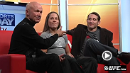 Military veterans Tim Kennedy and Liz Carmouche make the media rounds, stopping by Nashville's Inside Sports Sunday ahead of their big fights on Wednesday at Fight for the Troops.