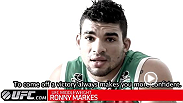 Though facing a tough opponent in Yoel Romero, Ronny Markes is confident that he can overcome the Olympic silver medalist in wrestling. Both are undefeated in the Octagon, but Markes remains undeterred by Romero's consistent ability to finish a fight.