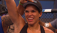 Amanda Nunes won her second straight UFC bout with a KO over Germaine de Ramandie, Francisco Rivera discusses his victory over fellow bantamweight George Roop, and Bobby Green  escaped an early point deduction to beat James Krause.