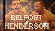 Two legends rematch as Vitor Belfort faces Dan Henderson, while Brazilian special forces officer Paulo Thiago takes on ki