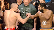 Watch the official weigh-in for UFC 167, live from the MGM Grand Garden Arena, Friday, November 15th at Midnight