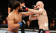 All-American wrestler Johny Hendricks opted to stand and trade with dangerous Danish Thai boxer Martin Kampmann. That risky gamble paid off.