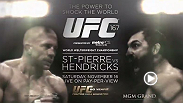 One of mixed martial arts' best, Georges St-Pierre, has been unbeaten for six years. But on November 16 in Las Vegas, Montreal's finest will be facing an opponent with the style and desire to end his streak in explosive fashion: Johny Hendricks.