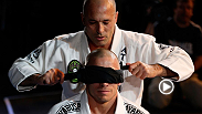 Royce Gracie, a UFC Hall of Famer and winner of the first-ever Ultimate Fighting Championship, joins current welterweight champion Georges St-Pierre at UFC 167 open workouts. Megan Olivi talks to Gracie about how the partnership came about.