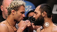 Welterweight Josh Koscheck has fought both Georges St-Pierre and Johny Hendricks -- hear who he thinks takes home the title on Saturday night.