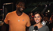 Philadelphia Phillies first basemen Ryan Howard joins Megan Olivi to discuss UFC 167, if he has MMA training in his offseason training plans and his predictions for the main event.