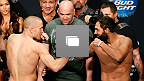 UFC 167 Weigh-in Gallery