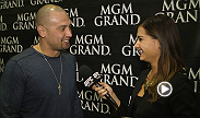 Red Sox outfielder Shane Victorino checks in with Megan Olivi to review UFC 167 and what the UFC meant to him as a kid.