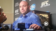UFC president Dana White speaks candidly with media members about the fallout from UFC 167's title fight, Pettis, Jones, Kos and more.
