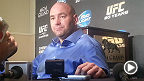 UFC 167: Dana White Media Scrum