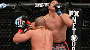 What's worse than being on the receiving end of a big left from UFC heavyweight Pat Barry? Eating the follow-up right.