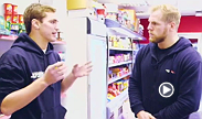 Rugby star James Haskell meets up with John Hathaway and his nutritionist to find out how the welterweight prepares in the build up to a fight.