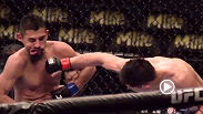FOX' signature Phantom Cam captures all the unbelievable action of UFC 167 in super-slow motion.