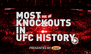 A look back at the most successful knockout artists in the first 20 years of the UFC.