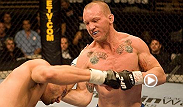 Power wrestler Gray Maynard shows that he's got knockout skills in his arsenal with this one-punch knockdown.