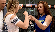TUF 18 coaches and sworn enemies Ronda Rousey and Miesha Tate take the Octagon to face off in front of Dana White and the rest of the TUF cast. Tensions from the season culminate when Miesha pulls a surprise from her back pocket.