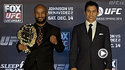 Watch the pre-fight press conference for UFC Fight Night: Johnson vs Benavidez, Thursday, December 12th at 9pm GMT.