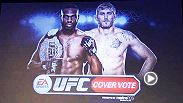 Watch the announcement of which fighter will join Jon Jones on the cover of EA Sports UFC.