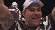 "Former light heavyweight champion Mauricio ""Shogun"" Rua reacts after a vintage performance down under in which he finished James Te Huna in just 63 seconds."