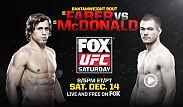 A true veteran of the sport takes on a new breed of fighter when Urijah Faber and Michael McDonald meet in the Octagon this Saturday.