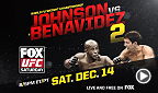UFC Fight Night: Presentación preliminar de Johnson vs Benavidez