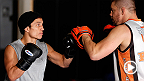 UFC correspondent Megan Olivi joins Team Alpha Male for an open workout featuring UFC Fight Night headliner Joseph Benavidez, plus FOX fighters Urijah Faber, Chad Mendes and Danny Castillo. Hear what it's like to have team spirit on their side.