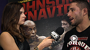 UFC correspondent Megan Olivi chats with UFC on FOX 9 main card winner Joe Lauzon and Chad Mendes about their fights in Sacramento.