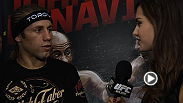 UFC on FOX 9 co-main event winner Urijah Faber joins Megan Olivi to discuss his big win over Michael McDonald and how training with Team Alpha Male helped him in the Octagon.