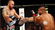 Travis Browne survived an early onslaught from Alistair Overeem, absorbing 41 significant strikes over the first four minutes. With a now gassed Overeem coming forward, 'Hapa' unleashed a lethal front kick to send 'The Reem' crumbling to the canvas.