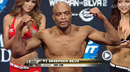 Watch the official weigh-in for UFC 168 from the MGM Grand in Las Vegas.