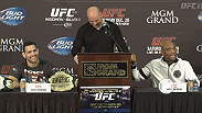 Watch the UFC 168: Weidman vs. Silva 2 pre-fight press conference from the MGM Grand in Las Vegas.