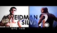 Chris Weidman shocked the world when he knocked out then-champion Anderson Silva for the middleweight title at UFC 162. While Weidman attempts to validate his first win, Silva looks to regain the respect he had before losing the belt.