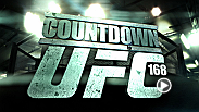 Hear from stars Chris Weidman, Anderson Silva, Miesha Tate and Ronda Rousey before their historic rematches at UFC 168. Plus, Travis Browne and Josh Barnett prepare for their heavyweight bout. Countdown airs Tuesday, Dec. 24 at 10 pm/7 pm ET/PT on FS1.