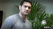 """All eyes are on Chris Weidman has he defends the middleweight belt in one of the biggest fight in UFC history. Yet pressure is the farthest thing from his mind, as Paula Sack discovers."